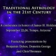 Conference on Traditional Astrology in September