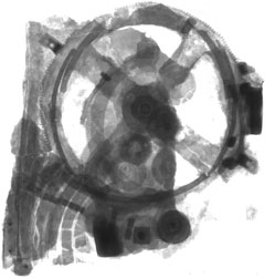Antikythera mechanism x-ray