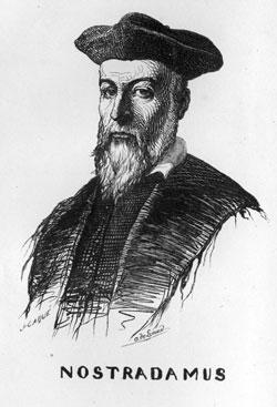 Nostradamus célèbre astrologue